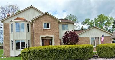 Shelby Twp Single Family Home For Sale: 51461 Forster Lane