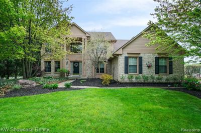Bloomfield, Bloomfield Hills, Bloomfield Twp, West Bloomfield, West Bloomfield Twp Single Family Home For Sale: 2789 Parkwick Court