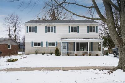 Farmington, Farmington Hills Single Family Home For Sale: 33053 Meadowlark Street