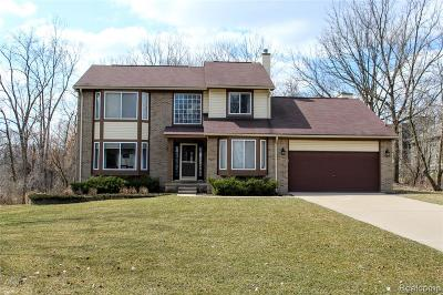 Bloomfield Twp Single Family Home For Sale: 1594 Dell Rose Drive
