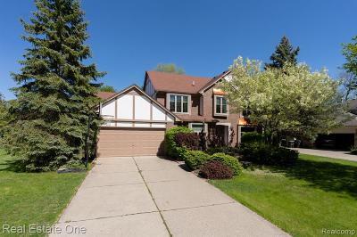 Rochester Hills Single Family Home For Sale: 360 Fordcroft Drive