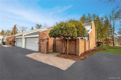 Bloomfield, Bloomfield Hills, Bloomfield Twp, West Bloomfield, West Bloomfield Twp Condo/Townhouse For Sale: 169 E Long Lake Road