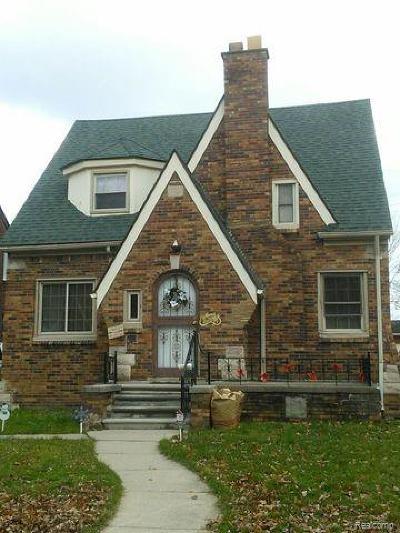 Detroit Single Family Home For Sale: 5218 Harvard Road