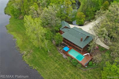 Single Family Home For Sale: 16380 Murray Road