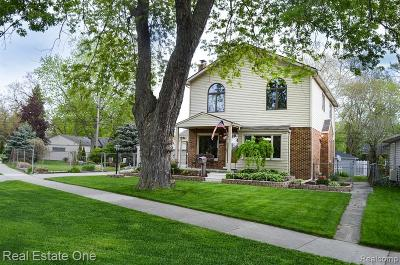 Royal Oak Single Family Home For Sale: 4164 Cooper Avenue