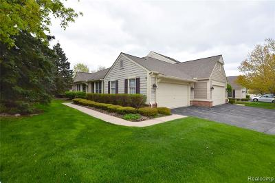 Bloomfield Twp Condo/Townhouse For Sale: 877 Tartan Trail