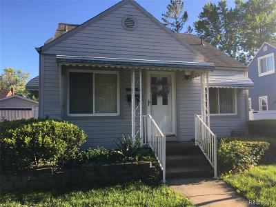 Allen Park Single Family Home For Sale: 14857 Philomene Boulevard