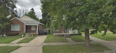 Wayne County Single Family Home For Sale: 8510 Sussex Street
