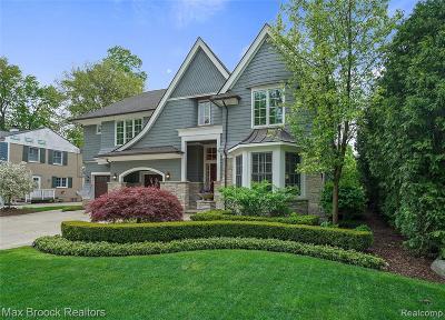 Birmingham Single Family Home For Sale: 584 N Glenhurst Drive