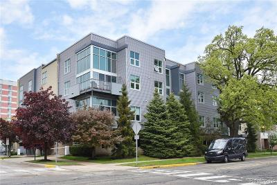 Royal Oak Condo/Townhouse For Sale: 614 S Troy Street #205