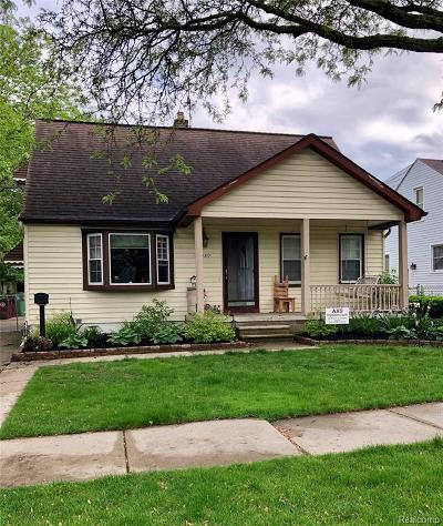 Southgate Single Family Home For Sale: 13489 Commonwealth Street
