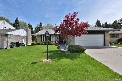 Allen Park Single Family Home For Sale: 10737 Melbourne Avenue