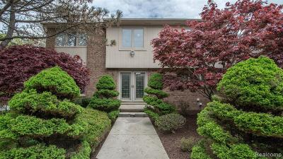 West Bloomfield Twp Single Family Home For Sale: 5483 Pond Bluff Court