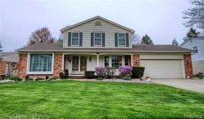 Plymouth Single Family Home For Sale: 45115 Pinetree Drive