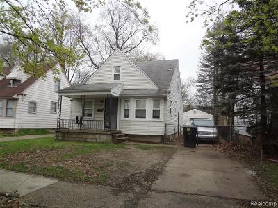 Detroit Single Family Home For Sale: 9940 Vaughan Street