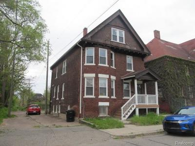 Detroit Single Family Home For Sale: 7014 Kercheval Street