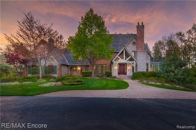 Single Family Home For Sale: 7608 Devin's Ridge