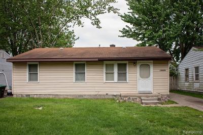 Taylor Single Family Home For Sale: 14089 Fellrath Street