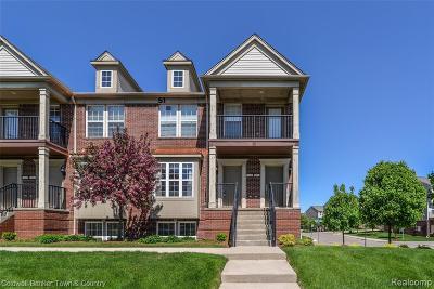 Novi Condo/Townhouse For Sale: 28060 Hopkins Drive