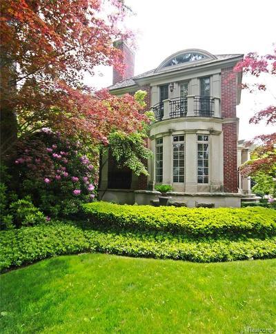 Birmingham Single Family Home For Sale: 193 W Frank Street