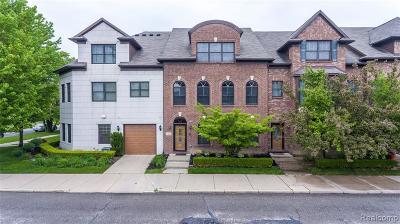 Detroit Condo/Townhouse For Sale: 5464 Beaubien Street