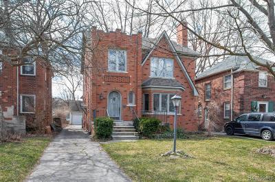 Detroit Single Family Home For Sale: 4329 Kensington Avenue