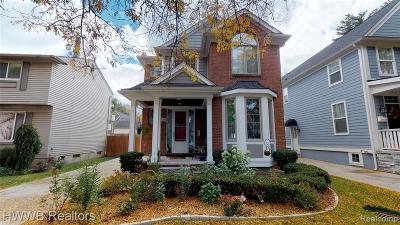 Birmingham Single Family Home For Sale: 1248 Emmons Avenue