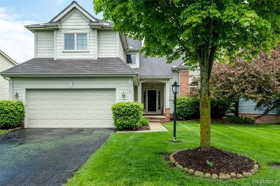 Northville Condo/Townhouse For Sale: 47706 Arbor Trail