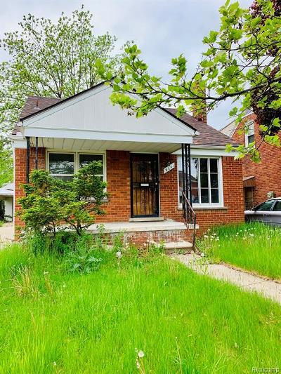 Detroit Single Family Home For Sale: 9041 Evergreen Avenue