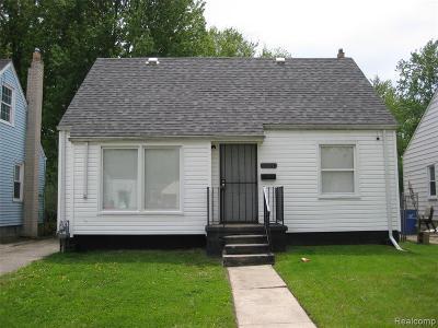 Detroit Single Family Home For Sale: 19708 S Kingsville Street