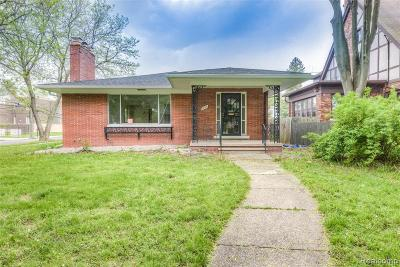 Grosse Pointe Single Family Home For Sale: 905 Barrington Road
