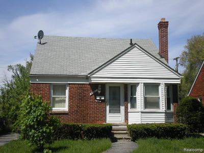 Detroit Single Family Home For Sale: 7501 Montrose