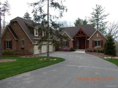Brighton Single Family Home For Sale: 6168 Pinemont Drive