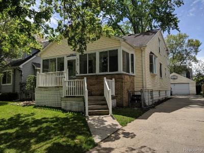 Royal Oak Single Family Home For Sale: 312 Rhode Island