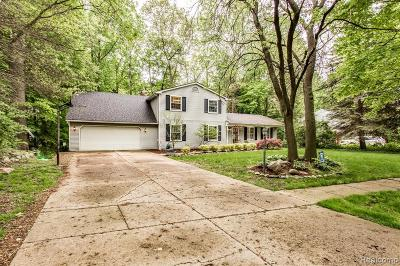 Macomb County Single Family Home For Sale: 3862 Pickford