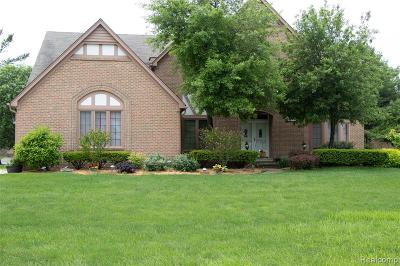 Bloomfield Twp Single Family Home For Sale: 1772 Brandywine Drive