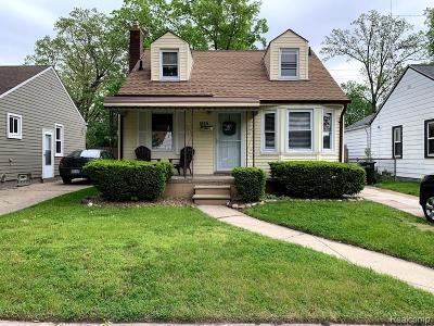 Royal Oak Single Family Home For Sale: 1515 Longfellow Avenue