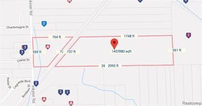 Brownstown Twp Residential Lots & Land For Sale: 21787 Inkster Road