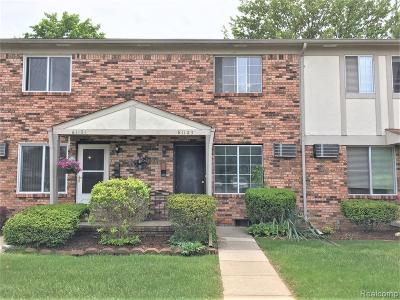 South Lyon Condo/Townhouse For Sale: 61123 Heritage Boulevard