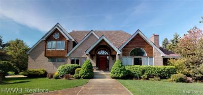 Single Family Home For Sale: 4454 Lancaster Drive