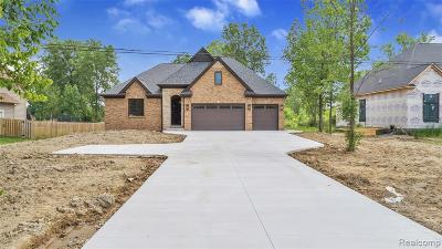Washington Twp Single Family Home For Sale: 60854 Jewell