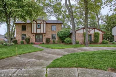 Shelby Twp Single Family Home For Sale: 54640 Iroquois Lane