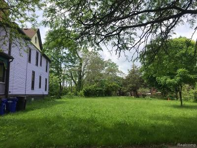 Detroit Residential Lots & Land For Sale: 4421 Avery