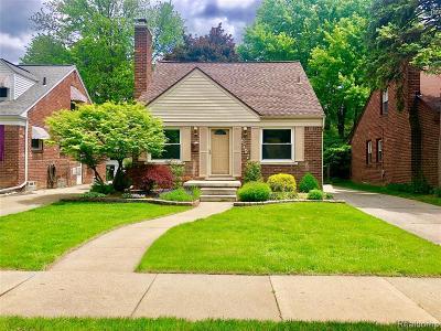 Allen Park Single Family Home For Sale: 6797 Shenandoah Avenue