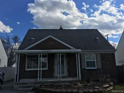 Southgate Single Family Home For Sale: 13229 Superior Street