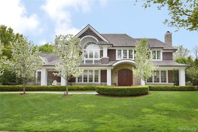 Bloomfield Twp Single Family Home For Sale: 2363 Tilbury Pl