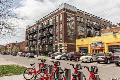 Detroit Condo/Townhouse For Sale: 444 W Willis Street #417