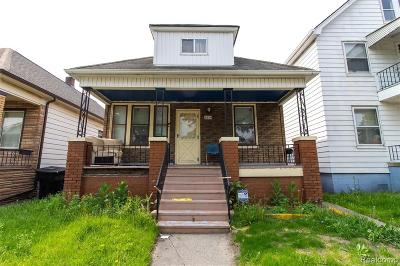 Hamtramck Single Family Home For Sale: 3874 Casmere Street