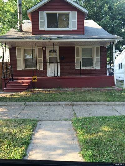 Hazel Park Single Family Home For Sale: 41 E George Avenue E