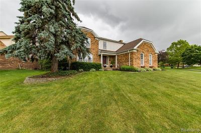 Macomb County, Oakland County, Wayne County Single Family Home For Sale: 45010 Lightsway Drive